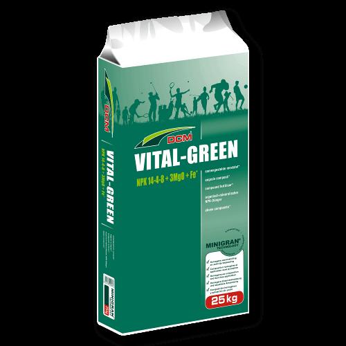 Dcm engrais de gazon vital green 25 kg professionnel for Gazon 25 kg