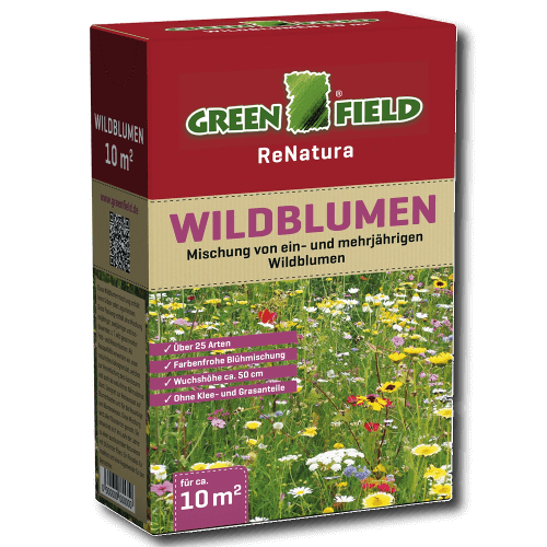 greenfield wildblumen 250g blumen mischung 25 arten farbenfroh 10 m 50cm wuchsh ebay. Black Bedroom Furniture Sets. Home Design Ideas